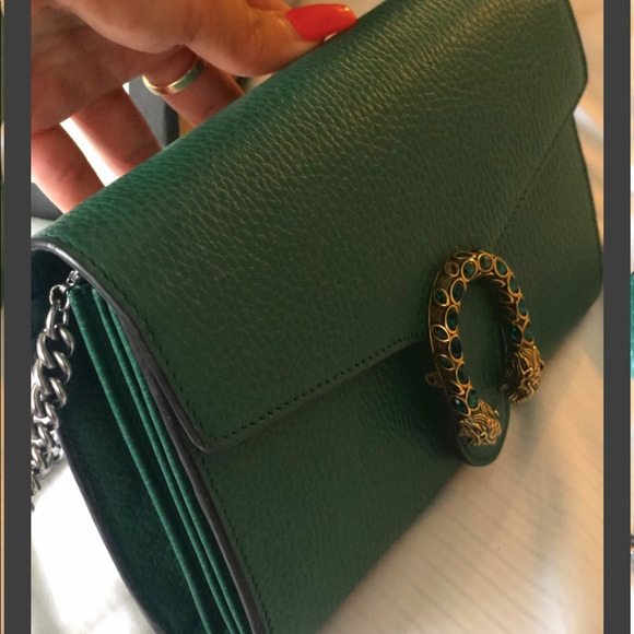 Gucci Bags Dionysus Leather Wallet On A Chaingucci Poshmark